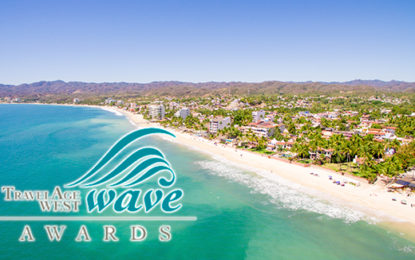Travel Age West nomina a Riviera Nayarit en sus Wave Awards 2017
