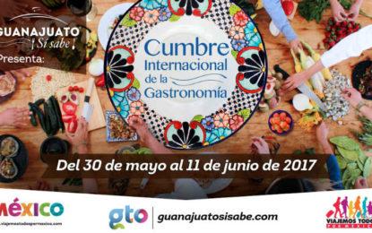Llega a Guanajuato la Cumbre Internacional de la Gastronomía