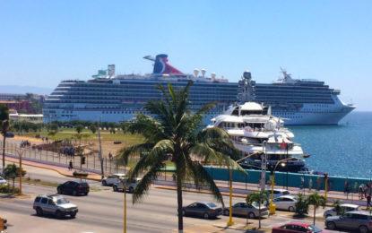 México, primer lugar a nivel mundial en arribo de turistas de cruceros