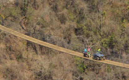 Tiene Vallarta el puente colgante vehicular más largo del mundo