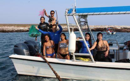 Limpian Fondo Marino de Las Islas Marietas en el Día Mundial de los Océanos
