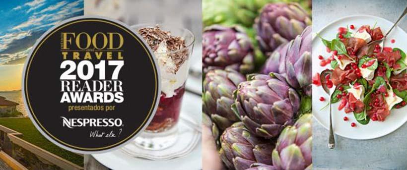 Riviera Nayarit en los Food and Travel Reader Awards 2017