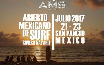 Abierto Mexicano de Surf 2017 llega a la Riviera Nayarit