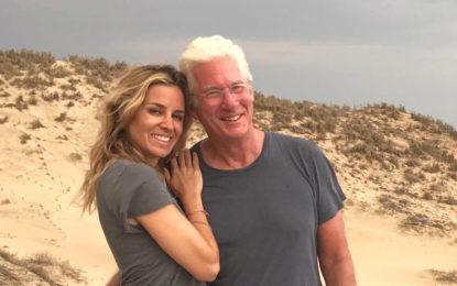 Richard Gere, Alejandra Silva y Diego Luna vacacionan en la Riviera Nayarit