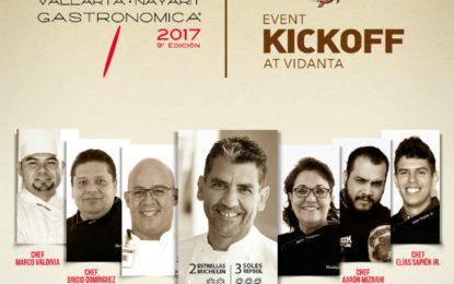 Kick Off Gastronómica 2017 en Vidanta Riviera Nayarit