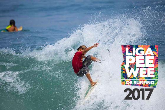 Liga Pee Wee 2017 busca a los jóvenes talentos del surf