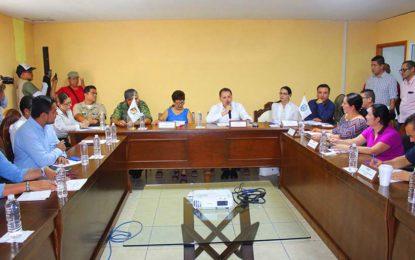 Instala Jaime Cuevas Consejo Municipal de Protección Civil