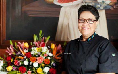 Recibe chef Betty Vázquez Premio Nacional de Educación Turística