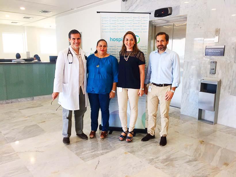 Hospiten Puerto Vallarta recibe visita de la presidenta del DIF Municipal