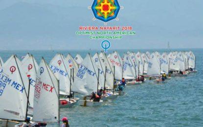 Riviera Nayarit sede del Campeonato Norteamericano de Optimist 2018