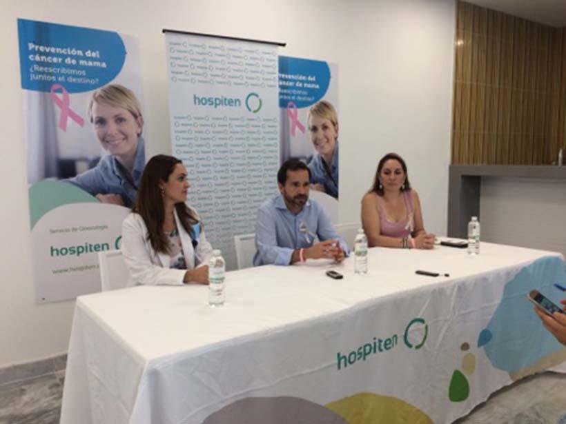 Hospiten Puerto Vallarta Impartirá charlas en la lucha contra el cáncer de mama