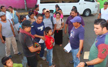 Exitosa reubicación de artesanos en Sayulita