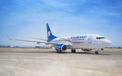 Aeroméxico retoma vuelo de pernocta a Puerto Vallarta y Riviera Nayarit