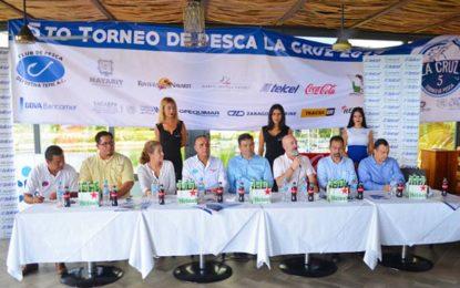 Anuncian el 5to. Torneo de Pesca La Cruz 2017
