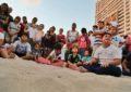 Liberan Tortugas alumnos del CAM 12 de Bahía de Banderas