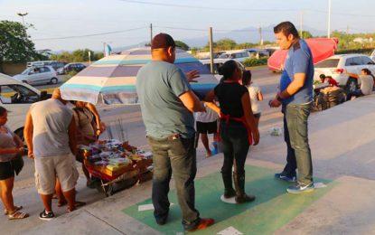 Realizan Fiscalización y PC de Bahía Vigilancia Permanente de venta de pólvora