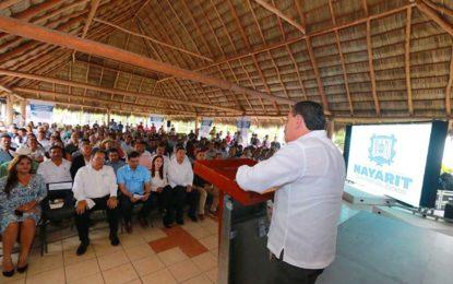 Agradece Bahía de Banderas ser escuchado por su Gobernador: Jaime Cuevas