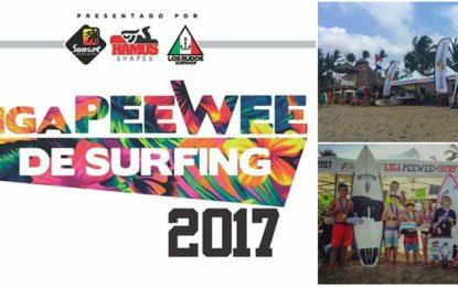 Liga Pee Wee 2017 llega a la capital del surf de Riviera Nayarit