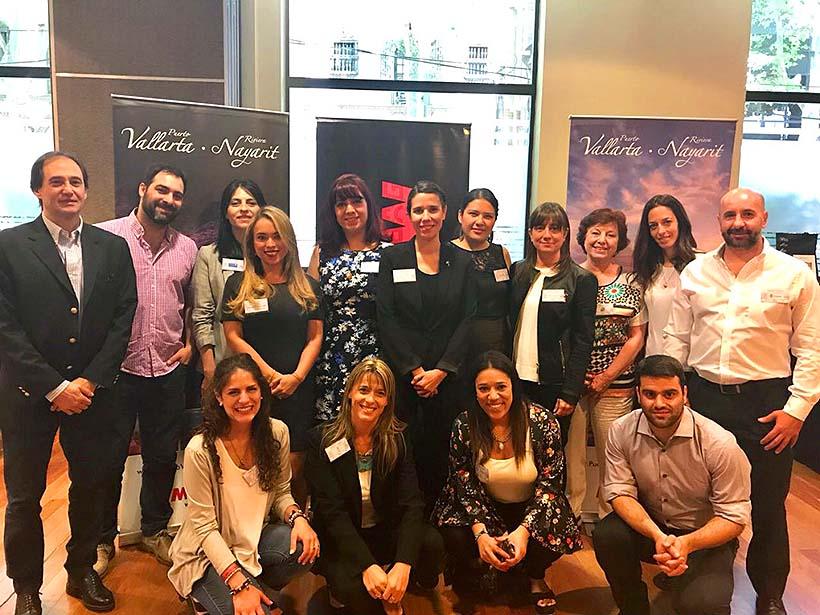 Riviera Nayarit fortalece promoción en Argentina