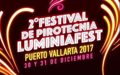 Se iluminará el cielo de Puerto Vallarta con el II Festival de Pirotecnia LuminiaFest