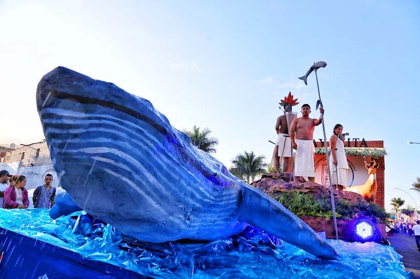 Bahía sonó fuerte en la Feria de Nayarit