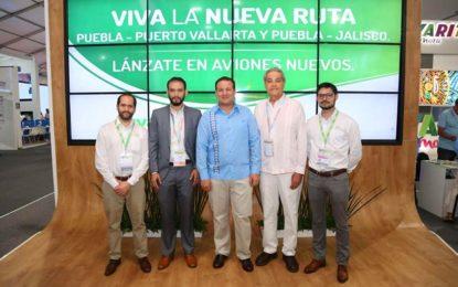 Viva Aerobus integra la ruta Puebla-Puerto Vallarta a su oferta regular