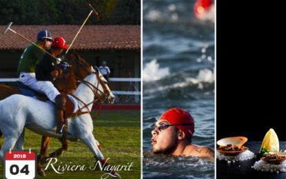 Abril será un mes de mucha actividad en Riviera Nayarit