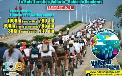 Todos invitados a pedalear en la Primera Ruta Turística Puerto Vallarta- Bahía de Banderas