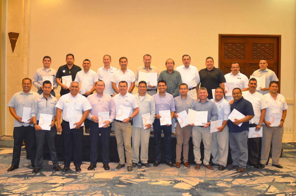 Certifica el CONOCER a Directores, Gerentes y Jefes de Seguridad de la AHMBB