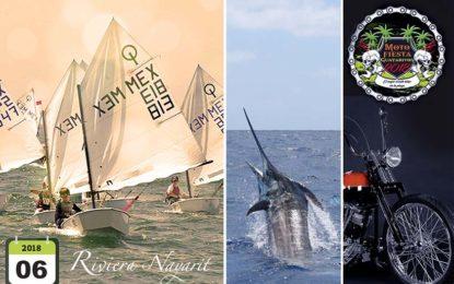 Rock, Deportes y Cultura en los eventos de junio de la Riviera Nayarit