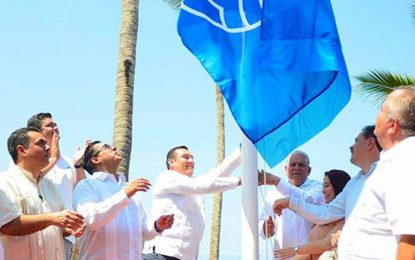 Otorgan a la Riviera Nayarit distintivos Blue Flag y Playas Limpias