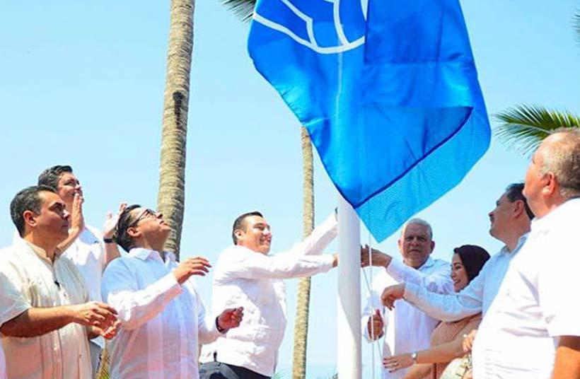 Otorgan a la Riviera Nayarit distintivos Blue Flag y Playas Limpias
