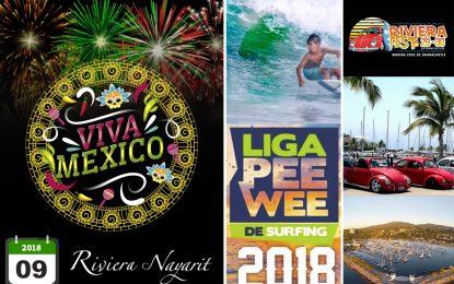 Eventos deportivos, tradición y moda predominan en la Riviera Nayarit en septiembre