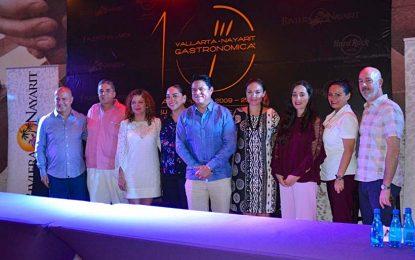 10° Vallarta Nayarit Gastronómica 2018 reunirá a los mejores chefs del mundo