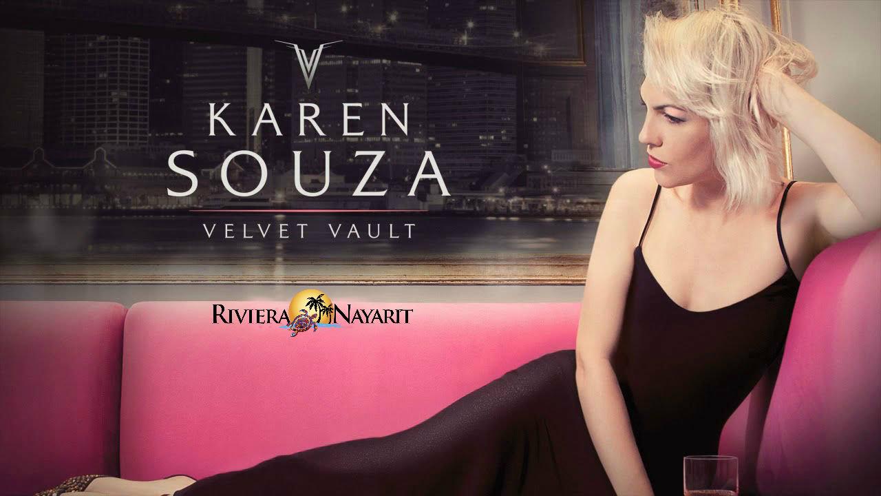 1er. Festival de Jazz Riviera Nayarit presenta a Karen Souza en concierto