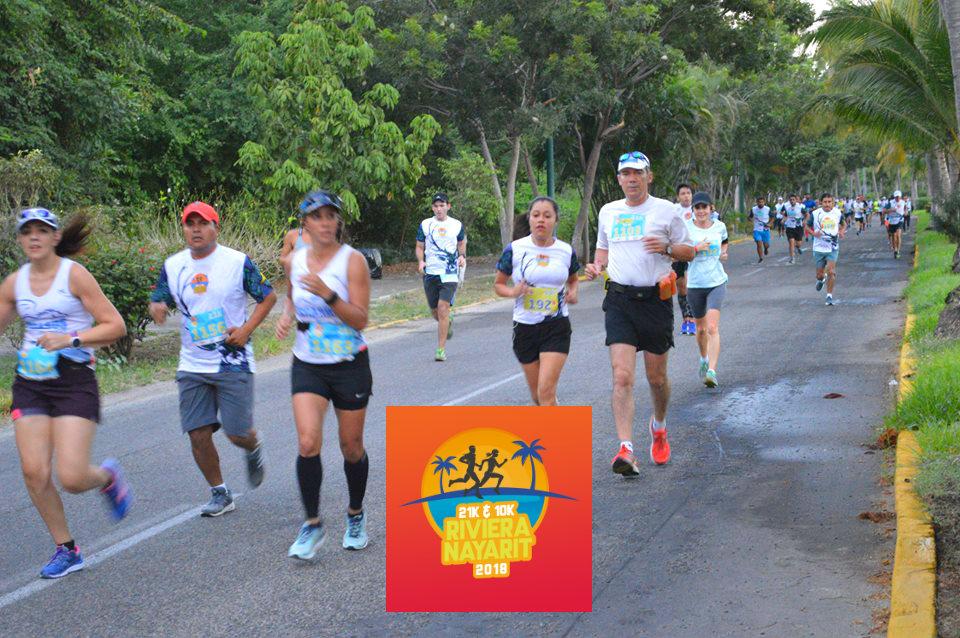 Correr en el paraíso: 10° Medio Maratón & 10K Riviera Nayarit