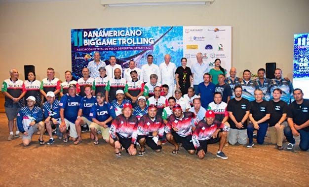 """Pesca """"a la mexicana"""" en el II Campeonato Panamericano Big Game Trolling 2019"""
