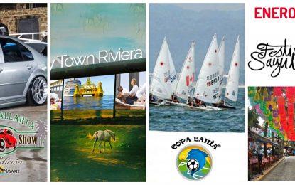 7 eventos en Riviera Nayarit para comenzar bien el 2020