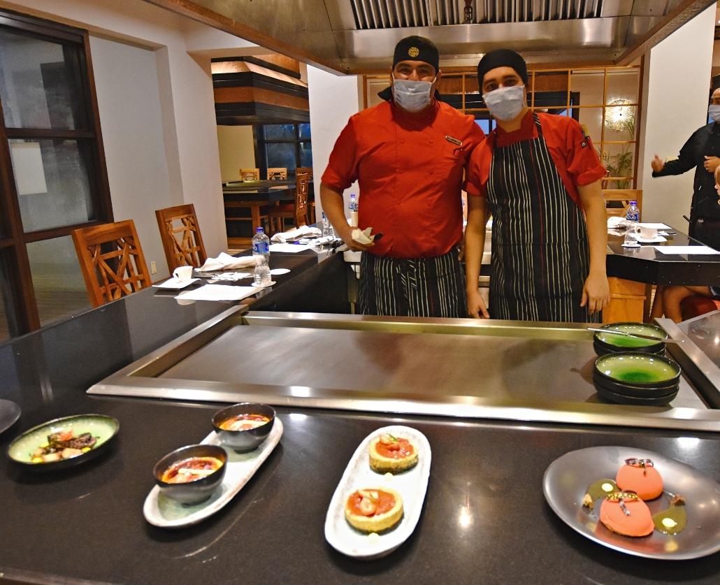 Chefs Jorge Santana y Enrique Macías
