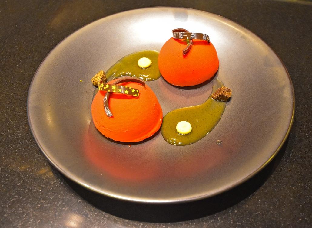 postres, restaurant Mikado, Marriott PV