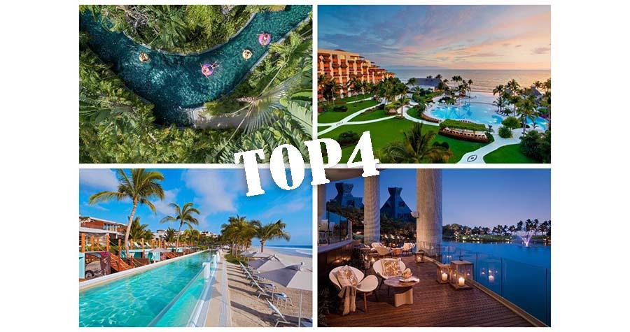 4 hoteles de Riviera Nayarit en el Top 25 México de T+L