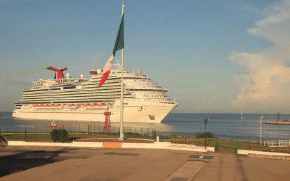 Puerto Vallarta recibirá durante el mes de octubre 14 cruceros internacionales