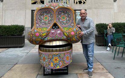 """El Consulado General de México en Nueva York a través de su Instituto Cultural en colaboración con Rockefeller Center y Visitmexico presentan """"Semana México: Día de Muertos en Rockefeller Center"""""""