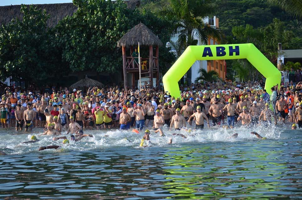 Guayabitos recibe el Maratón Acuático ABH el 23 de Octubre