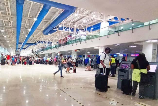 Llegan más turistas por vía aérea a PV/ Riviera Nayarit