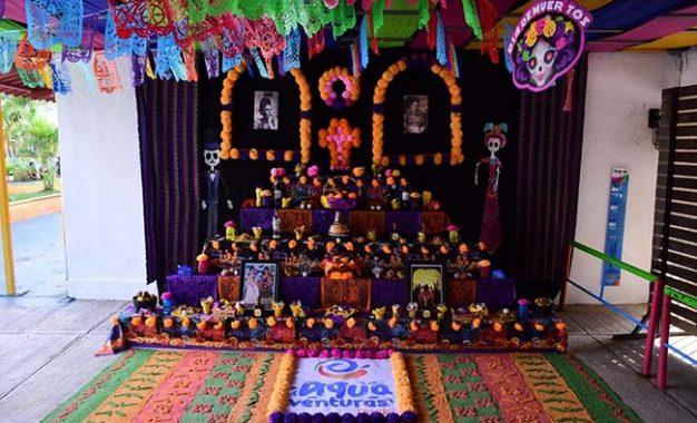 Aquaventuras Park Celebra su  Primer Festival de Día de Muertos