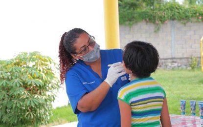Salud dental para los niños de la casa hogar del sistema DIF
