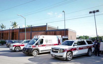 Dos vehículos de reacción rápida para Protección Civil
